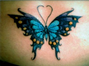 Tatuagem de Borboleta - 1