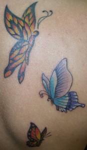 Tatuagem de Borboleta - Mix