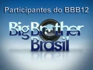 Participantes do BBB12