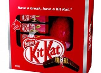 Embalagem - Ovo de Páscoa Kit Kat