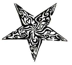 Tatuagem-Maori-Desenho-1-Estrela