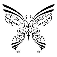 Tatuagem-Maori-Desenho-2-Borboleta