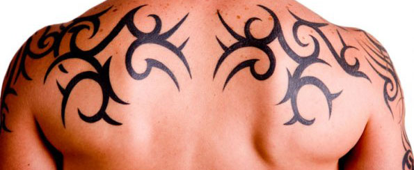Tatuagem Masculina - Tribal-Costas