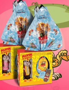 Ovo de Páscoa Cacau Show -  Alvin e os Esquilos