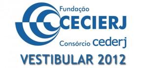 CEDERJ Vestibular 2012 – Inscrição