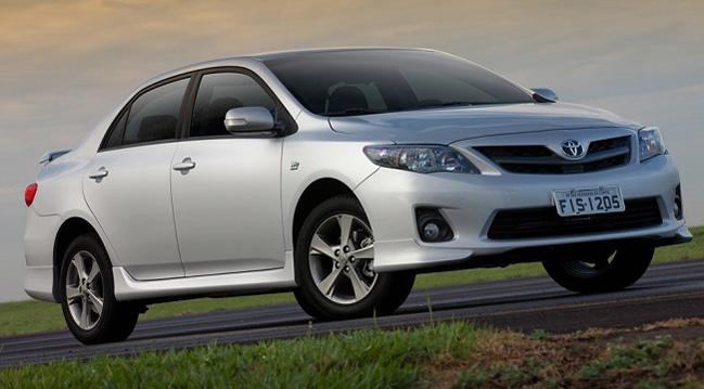 Novo Corolla XRS 2013