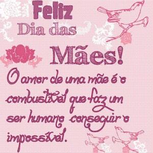 Mensagens Dia das Mães 2012