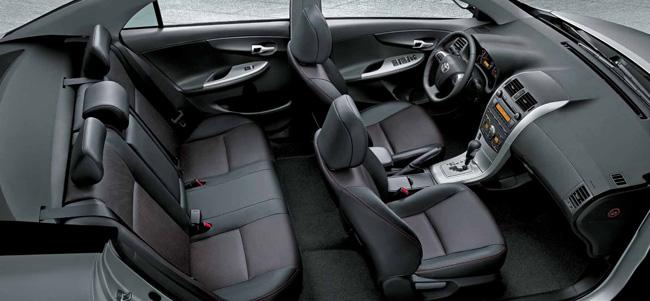 Novo Corolla XRS - Interior