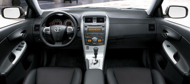 Novo Corolla XRS - Painel
