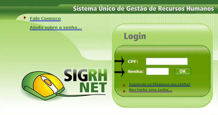 Portal do Servidor DF - Login