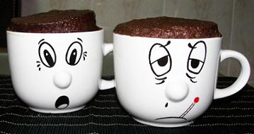 Bolo de Caneca - Chocolate