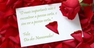 Mensagens Dia dos Namorados 2012