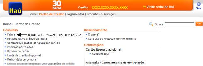 Itaucard Fatura Online
