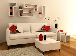 Sala pequena com Pufe como mesa de centro