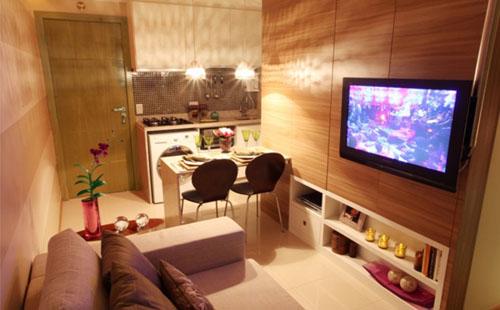 decoracao de apartamentos pequenos para homens:Decoração de Apartamento Pequeno – Fotos, Dicas