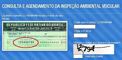 Controlar Agendamento - Inspeção Veicular 2012