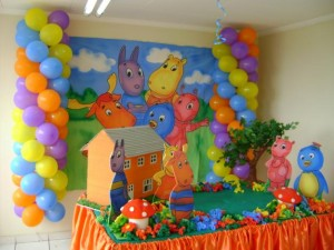 decoracao-festa-infantil-Backyardigans-fotos