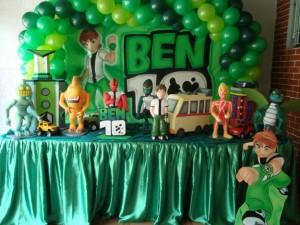 decoracao-festa-infantil-ben-10-fotos