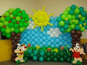 decoracao-festa-infantil-com-baloes-fotos