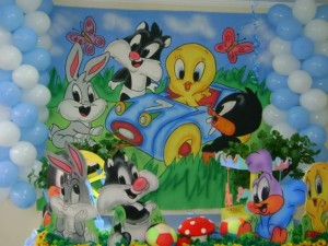 decoracao-festa-infantil-looney-tunes-fotos