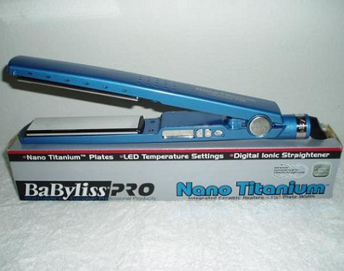 Prancha Babyliss Pro Nano Titanium