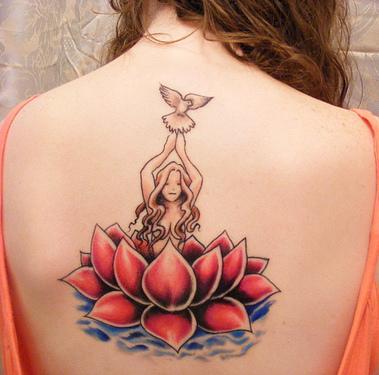 Tatuagens Femininas Nas Costas Fotos