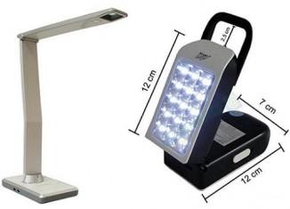 Luminárias de Mesa com Iluminação Led