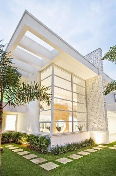 Fachadas de casas modernas fotos for Casas bonitas modernas