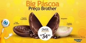 Ovos de Páscoa Chocolates Brasil Cacau