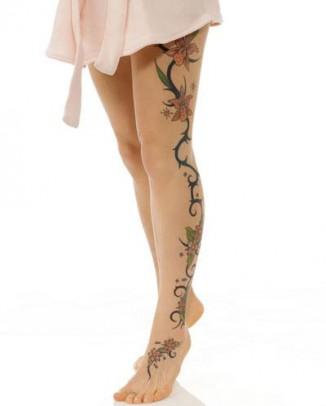 Tatuagem Feminina na Perna