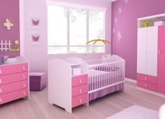 Móveis para Quarto de Bebê Feminino