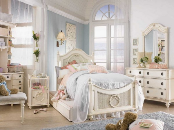 Decora o vintage para quarto feminino - Provence mobiliario ...
