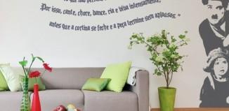 Adesivos de Parede com Frases Personalizadas