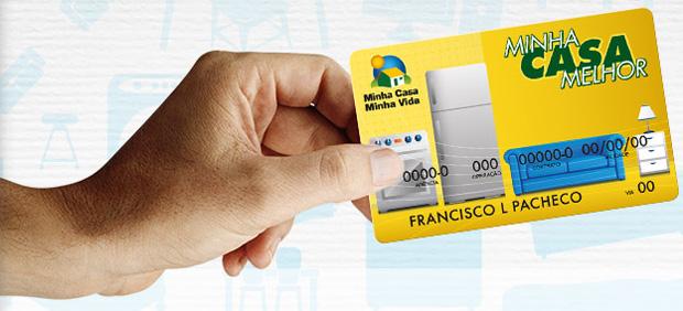 Com o cartão, você financia suas compras em até 48x. (Imagem: Reprodução)