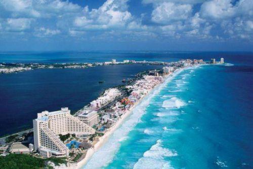 Cancún tem praias maravilhosas e Resorts de alto padrão. (Foto: Reprodução)
