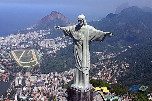 Cristo Redentor, Principal Ponto Turístico da cidade do Rio de Janeiro.  (Foto: Reprodução)