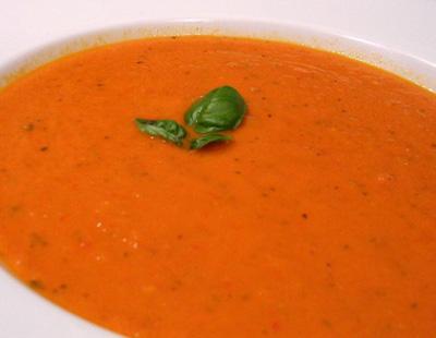 Sopa Creme de Tomate.