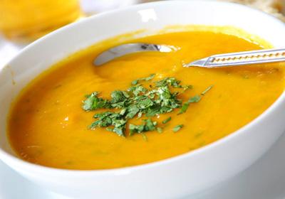 Sopa de Mandioca.