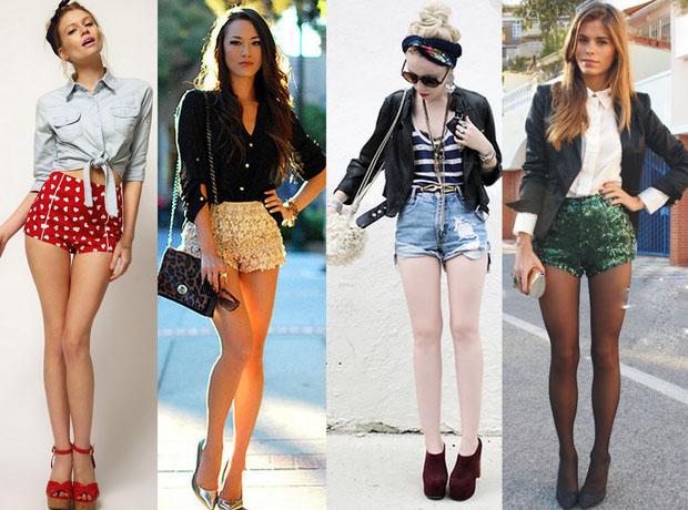 Tendência Verão 2014: Os shorts nesta modelagem também estão fazendo sucesso. (Foto: Divulgação)