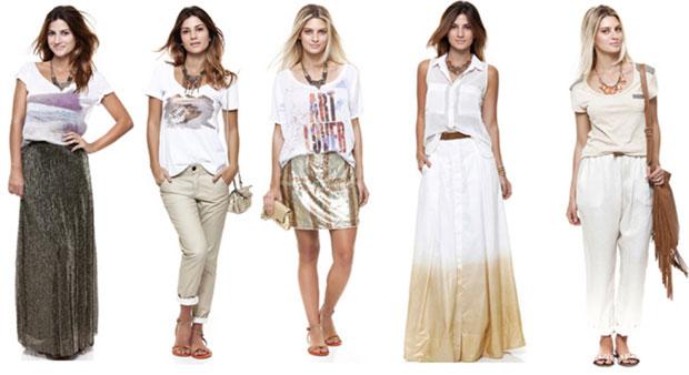 São muitas as opções de roupas para usar no ano novo. (Foto: Divulgação)