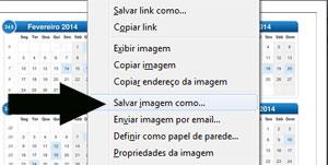 """Amplie a imagem e clique em """"Salvar Imagem Como""""."""