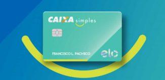 cartão caixa simples