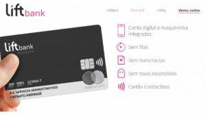Conta digital e Cartão para empreendedores: Conheça a LiftBank