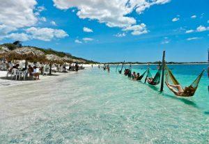 Praia de Jericoacoara, um paraíso no estado  do Ceará