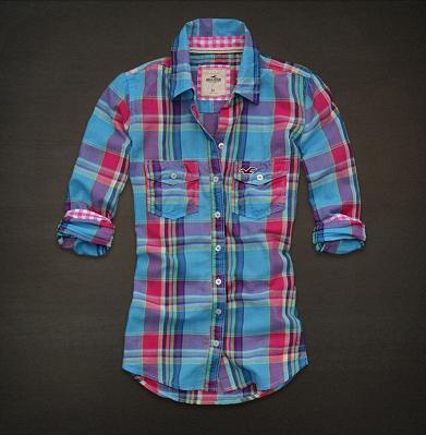 889c792711466 Sweet Girl  Camisa Xadrez Feminina